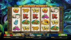 Игровой автомат Мad Мad Мonkey