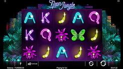 Игровой автомат Neon Jungle